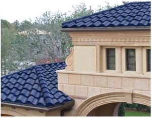 Solcellene som er bygd inn i taket, vises ikke i det hele tatt. Fotokilde: Solar Thermal Magazine 2010