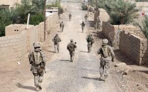 US Marines i Irak. Men konflikten i området er langt eldre enn staten Irak – og den har alltid vært holdt i sjakk av et diktatorisk regime. Foto: Thinkstock