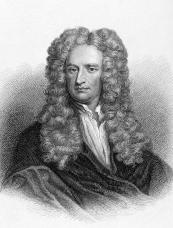 Isaac Newton er blant dem som utarbeidet en teori om sammenhengen mellom farger og lyd. Men det fuglte med noen begrensninger med teorien. Ill: Thinkstock