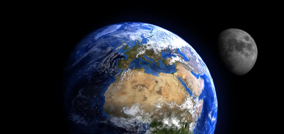Vi har bare en jord, og den skal barna våre arve.  Om klimaendringene akselererer vil store deler av jorda bli ubeboelig og udyrkbar, og skape millioner av klimaflyktninger. Illustrasjonsbilde: Thinkstock.