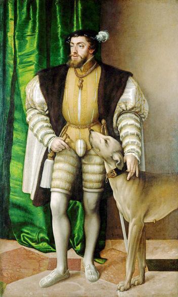 Keiser Karl 5. ville få slutt på uenigheten mellom partene, men valgte katolikkenes side, også av praktiske hensyn. Illustrasjon: Jakob Seisenegger