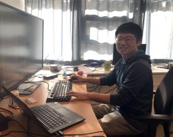 Chaoru Lu er post.doc ved NTNU og er utdannet ved Beijing Jiatong Universtity og Iowa State University. Foto: Idun Haugan