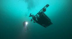 Undervannsrobot. Foto.